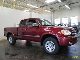 2005 Toyota Tundra SR5 Access Cab 4x4 in Salsa Red Pearl - 467115 ...
