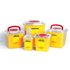 sharp disposal. phelbotomy container 1.5 ltrs. sharp disposal r