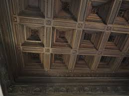 putting coffered ceiling