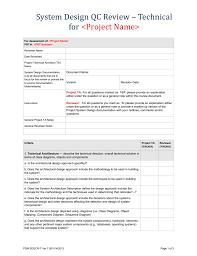 Design System Checklist System Design Verification Checklist