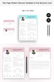 Markim Smith Modern Resume Template Resumes That Stand Out