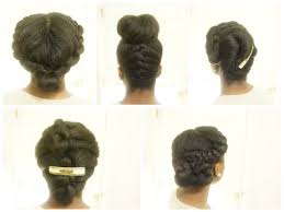 5 Minute Hairstyles For Girls Natural Bridal Looks Natural Black Hair