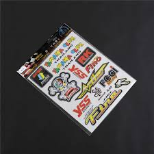 Thailand Sticker Design For Motorcycle Motorcycle New Reflective Decal Set Motocross Dirt Mountain