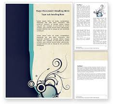 Word Document Template Design Decorative Word Templates Design Download Now