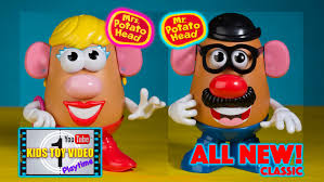 mr and mrs potato head. Interesting And Playskool Classic Mr Potato Head And Mrs Toy Video Throughout And S