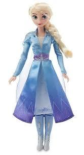 <b>Холодное сердце</b>-2: поющие куклы Анна и <b>Эльза</b>, Disney Store