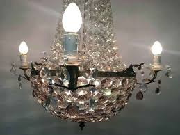 vintage crystal chandeliers chandelier value made in spain empire home improvement excellent crys