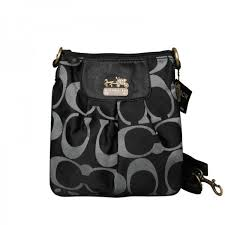 Coach Legacy In Signature Large Grey Satchels ACB+Black Crossbody Bags EQS+ GREY WALLETS AYA