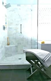 marble floating shower bench with custom lighting transitional bathroom legs bench in shower marble waterfall freestanding transitional bathroom