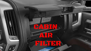 2014-2017 GMC Sierra/Chevy Silverado Cabin Air Filter Replacement ...