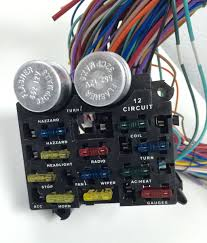 universal 12v 24 circuit 12 fuse wiring harness wire kit v8 rat hot Car Wiring Harness Kits universal 12v 24 circuit 12 fuse wiring harness wire kit v8 rat hot rod gm