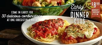 olive garden modesto come in early for delicious combinations try olive gardens early dinner duos olive