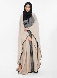 Buy Designer Coat Designer Coat Style Abaya With Matching Sheila Beige