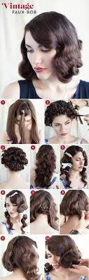 1920 Hair Style 32 vintage hairstyle tutorials you should not miss faux bob 6772 by wearticles.com