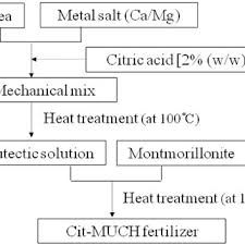 Flow Chart For Preparation Of Much Incorporated Citric Acid