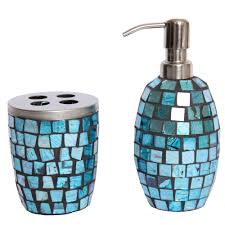 Mosaic Bathroom Accessories Sets Mosaic Turquoise Bath Accessories By Waylande Gregory Gracious