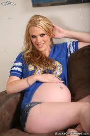 Blonde Teen Gets Pregnant