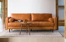 sven leather sofa modern leather sofas22 modern