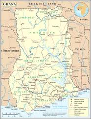 Image result for ghana map wikipedia