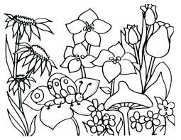 Flower Coloring Pages For Preschoolers At Getdrawingscom Free For