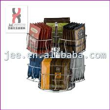 Tea Bag Display Stand Interesting Cafe Coffee Capsule Carousel Display Holdercountertop Revolving