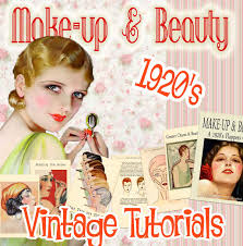 1920s makeup tutorial book