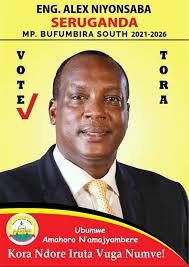 ENG・ALEX NIYONSABA SERUGANDA, Aspiring MP 2021-2026, BUFUMBIRA SOUTH