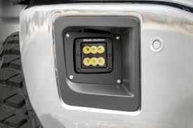 2014 Gmc Sierra Led Fog Lights 2 Inch Black Series Cree Led Fog Light Kit Gmc Sierra 1500