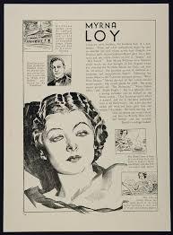 1933 Myrna Loy Edmund Lowe Actor Movie Film Star - ORIGINAL | Myrna loy,  Classic movie stars, Film movie