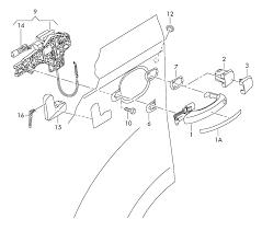 Toyota corolla parts diagram door handle replacement large size