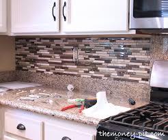 Installing Tile Backsplash