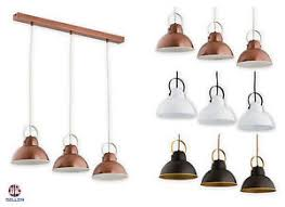 retro modern lighting. Image Is Loading Pendant-3-lights-Ceiling-Light-Copper-Vintage-Lampshade- Retro Modern Lighting R