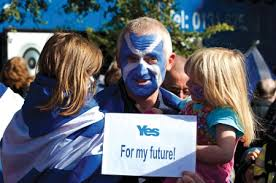 scottish independence essay winners times higher education the man scottish flag painted on face