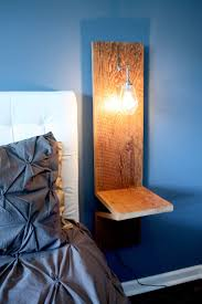 amazing side table with built in lamp dutchglow org beauteous floor charging station light rack fridge usb cooler