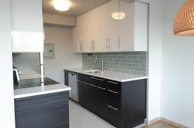 Contemporary Black And White Kitchen Nz This Features Melteca