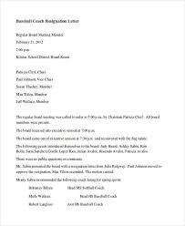 Sample Letters Of Resignation Simple 48 Resignation Letter Examples