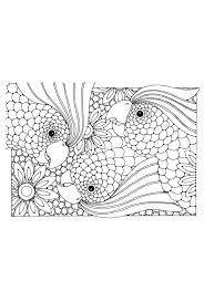 Mandala Kleurplaat Volwassenen Dier Lowen Malvorlagen