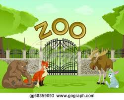 zoo clipart. Wonderful Clipart Zoo Clipart Entrance Gate 5 Inside Clipart T