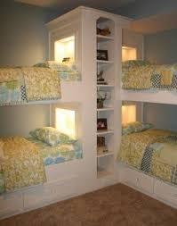 L shape bunk bed