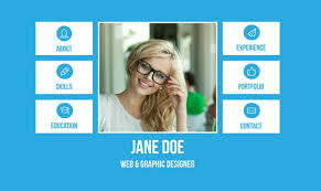 Personal Resume Website Example 15 Best Html Resume Templates For