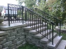 wrought iron railing. Awesome Exterior Wrought Iron Railing