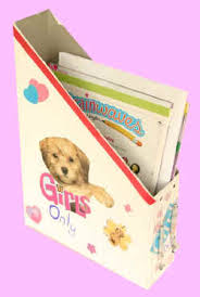 Magazine Holder From Cereal Box Recycled Magazine Holder Craft 46