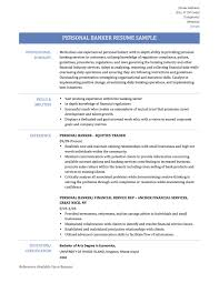 Investment Banking Resume Example New Resume For Banking Position Cv