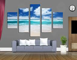 wall art for office space. blue sky and beautiful scenery canvas paintings modern landscape pictures wall art for home office decor any size acceptedin painting u0026 calligraphy space o