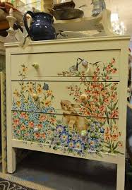 tropical painted furniture.  Furniture Hand Painted Dressers 99 Best Furniture Images On Pinterest 7 Within Decor 5 With Tropical N