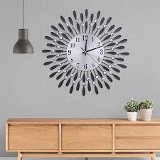 modern luxury wall hanging clock big