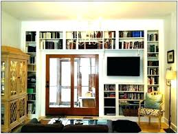 long low bookcase horizontal with doors bookshelf diy