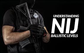 Bullet Proof Vest Rating Chart Nij Ballistic Levels Nij Levels Security Pro Usa