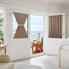 front door window coveringsFront Door Curtain Amazoncom