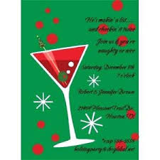 Holiday Cocktail Party Invite Hilarious Christmas Party Invitation